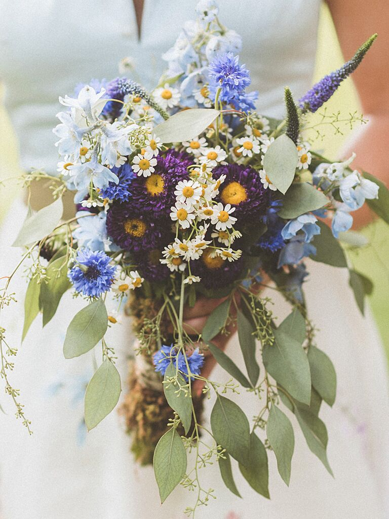 Wildflower Bouquets: The Best Wildflower Bouquets from Real Weddings