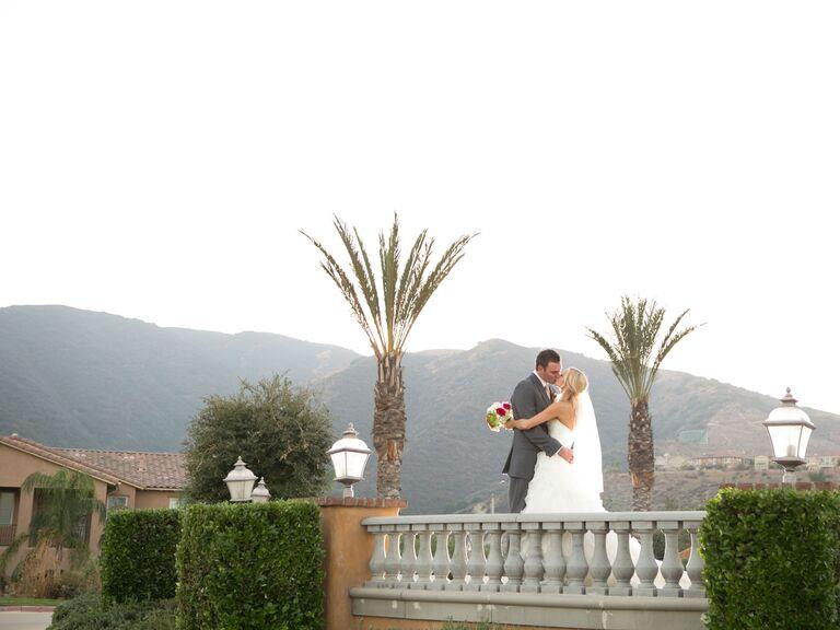 Wedding venue in Corona, California.