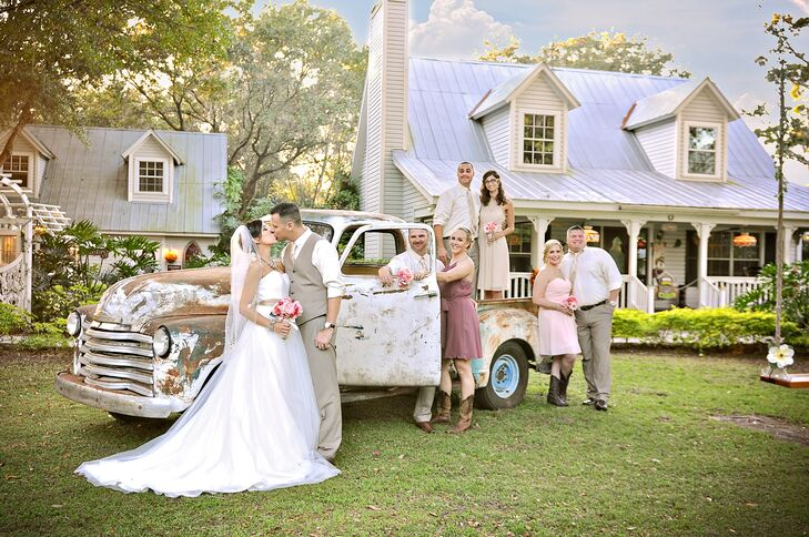 After seeing Miranda Lambert and Blake Shelton's glam country wedding, Heather Morales (29 and an administrative assistant) and Jeremy Guthrie (38 and