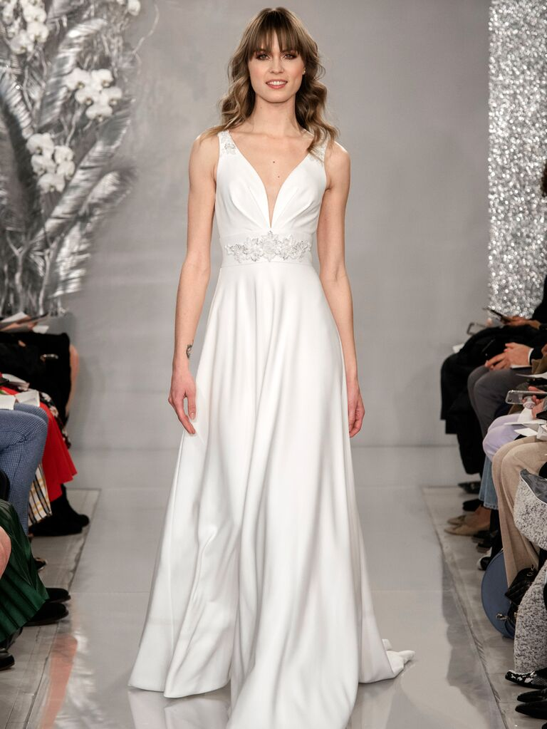 Theia Spring 2020 Bridal Collection sweetheart wedding dress