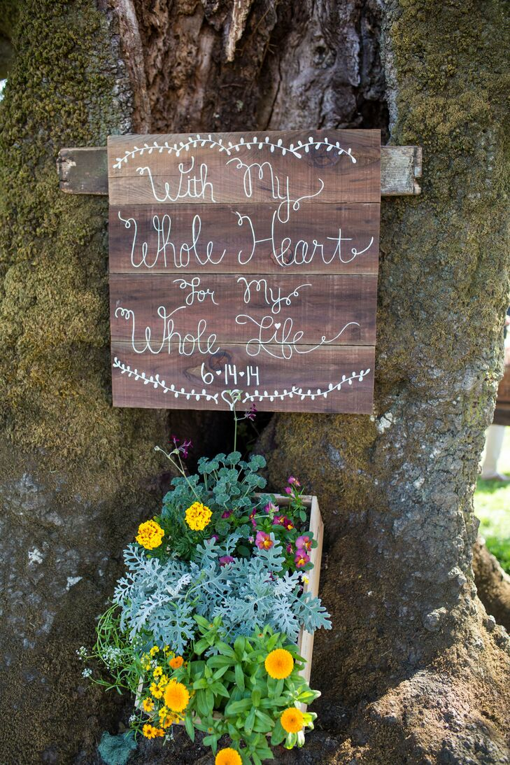 Hand-crafted Wood Welcome Signs