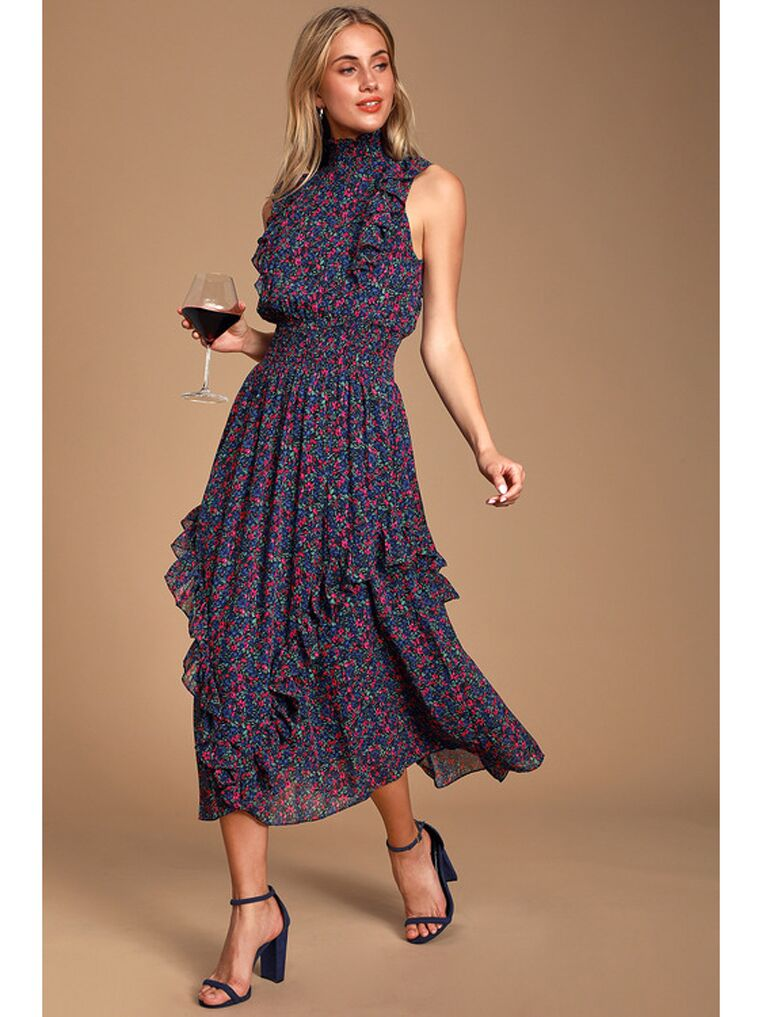 Flare Cocktail Dress