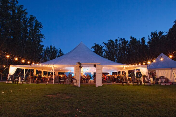 White Tented Reception