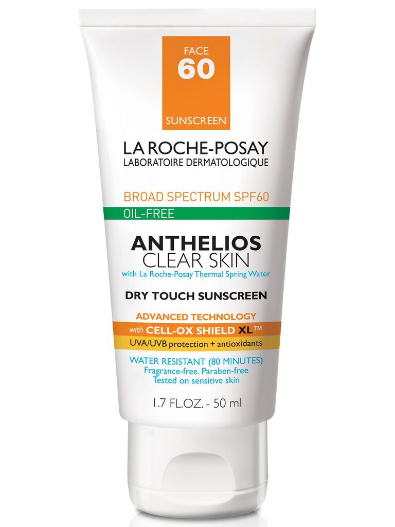 La Roche Posay Anthelios clear skin dry touch sunscreen