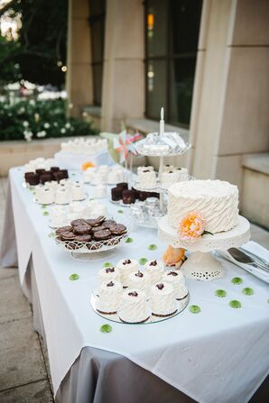 Cake and Cookie Dessert Spread