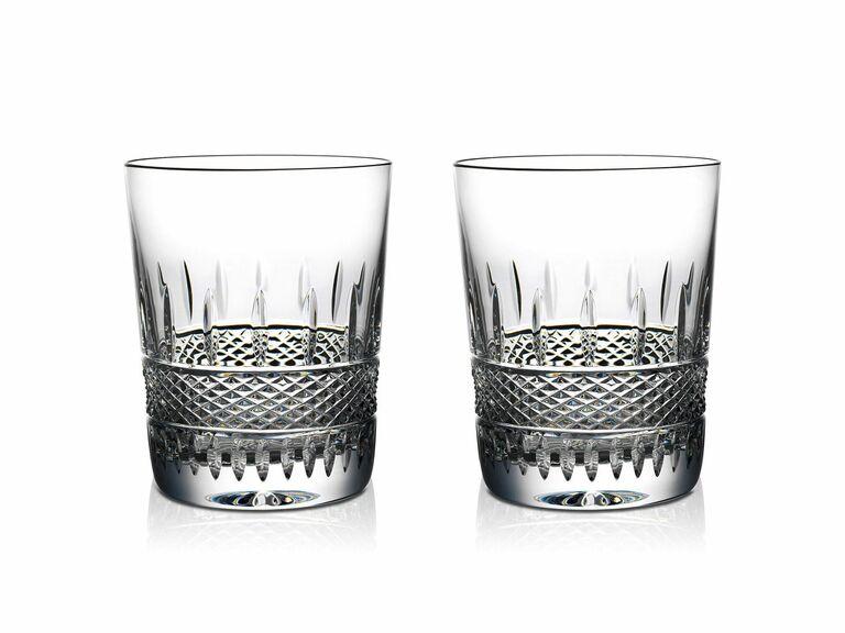 irish lace whiskey glass