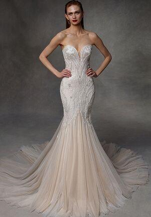Badgley Mischka Bride Deanna A-Line Wedding Dress