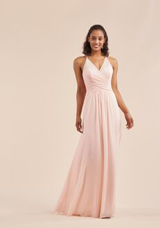 B2 Bridesmaids by Jasmine B213053 V-Neck Bridesmaid Dress