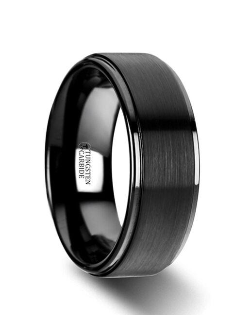 Mens Tungsten Wedding Bands W2962-BTRP Tungsten Wedding Ring
