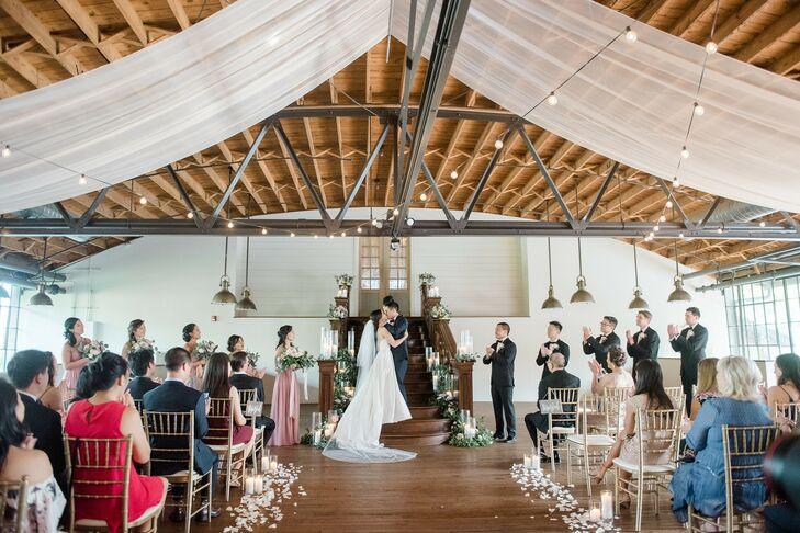 Wedding Ceremony at Summerour Studio in Atlanta, Georgia