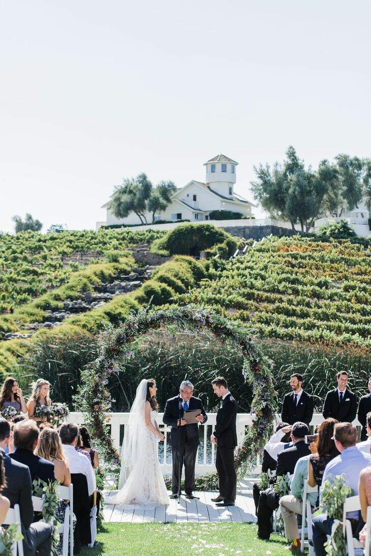 Romantic Outdoor Vineyard Ceremony in California