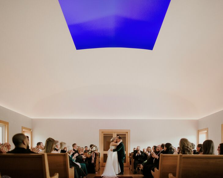 Wedding Ceremony at Live Oak Friends Meeting House in Texas
