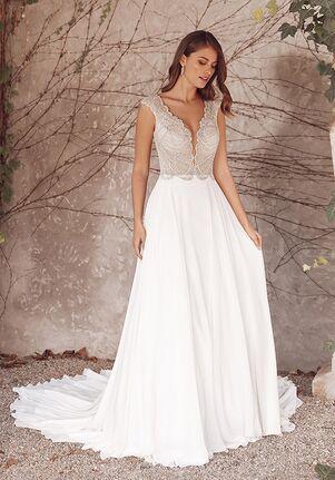 Justin Alexander Adena A-Line Wedding Dress