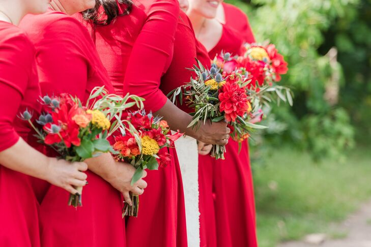"""I got seven incredibly beautiful bouquets for less than some women pay for one,"" Sally says."
