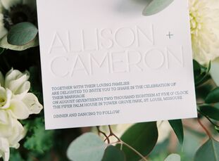 For Allison Eckert (32 and an interior designer) and Cameron Bence (31 and an architect), the date of their post-wedding celebration was more crucial