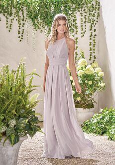 B2 Bridesmaids by Jasmine B193009 Illusion Bridesmaid Dress