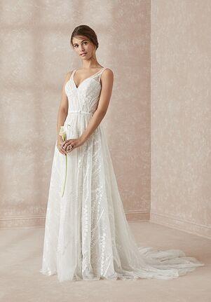 Adrianna Papell Platinum 31156 A-Line Wedding Dress