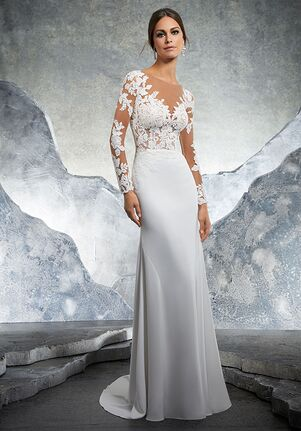 Morilee by Madeline Gardner/Blu Kaira/5609 Sheath Wedding Dress