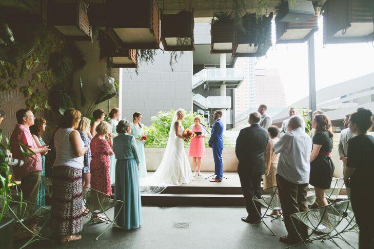 Austin Outdoor Patio Ceremony Venue