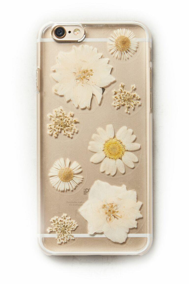 Anthropologie Pressed Flowers iPhone 6 Case