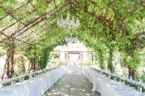 Vine-Covered Pavilion Reception