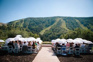 Rustic Mountaintop Ceremony