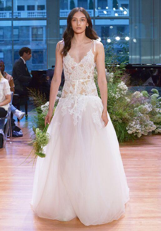 Monique Lhuillier Chantal A Line Wedding Dress