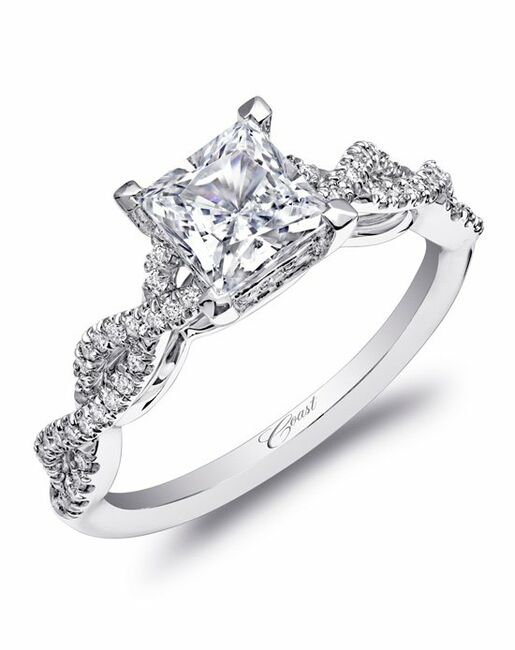 e62e6cf39 Coast Diamond Woven Shank Engagement Ring-LC10002 Engagement Ring ...