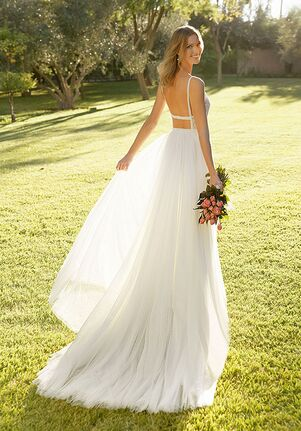 Rosa Clará Soft RED A-Line Wedding Dress