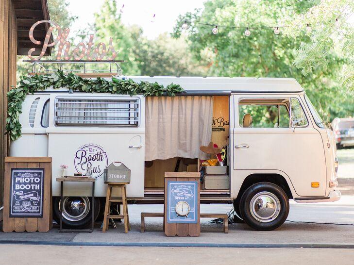 Retro Photo Booth Bus