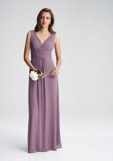 #LEVKOFF 7009 V-Neck Bridesmaid Dress