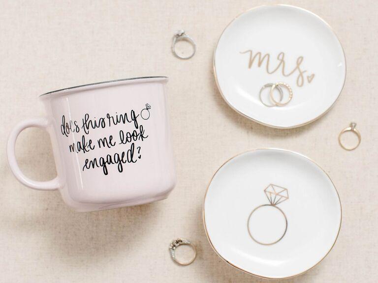 does this ring make me look engaged gift mug