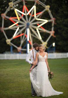Essense of Australia D2872 A-Line Wedding Dress