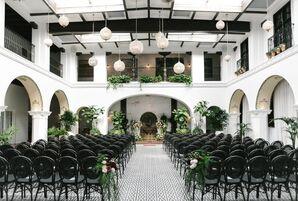 Elegant Ebell Club Ceremony
