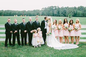 Timeless Blush Wedding Party