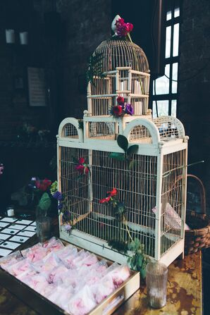 Bird Cage Favor Backdrop
