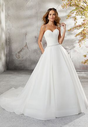Morilee by Madeline Gardner/Blu 5696 / Laurissa Ball Gown Wedding Dress