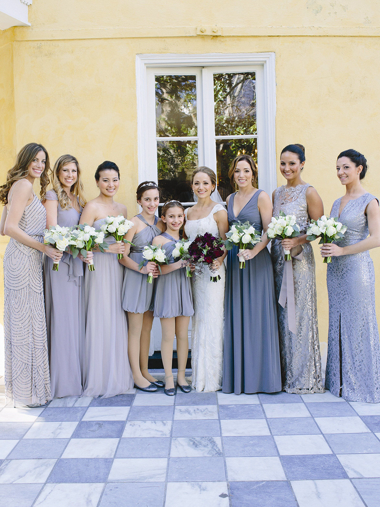02a5882bb8a36 These Mismatched Bridesmaid Dresses Are the Hottest Trend
