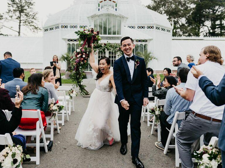 Wedding venue in San Francisco, California.
