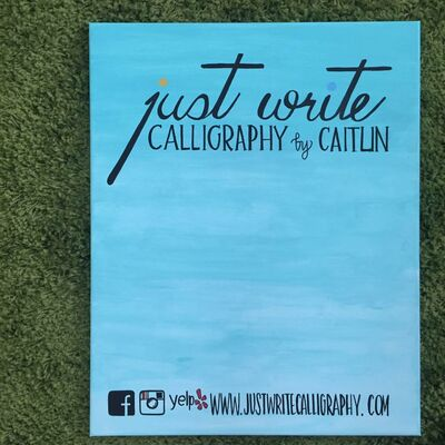 Just Write Calligraphy