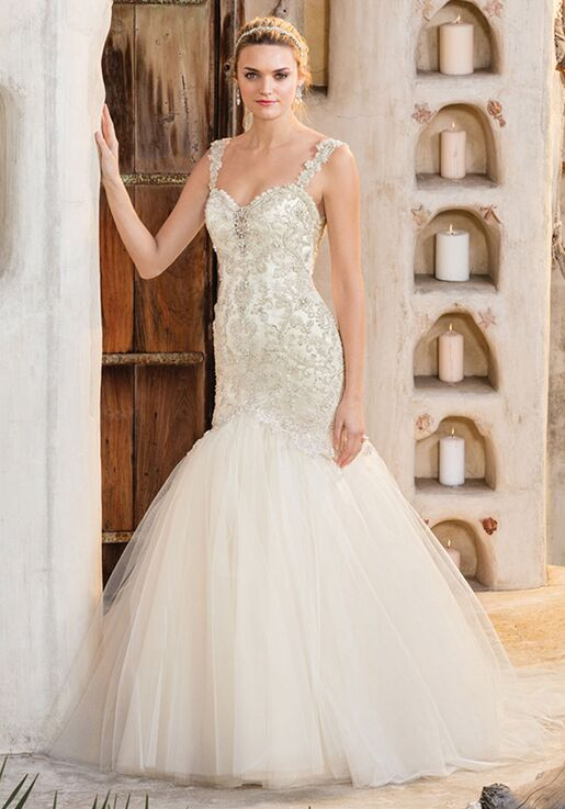 610588d9a3e Casablanca Bridal Style 2307 Cora Wedding Dress - The Knot