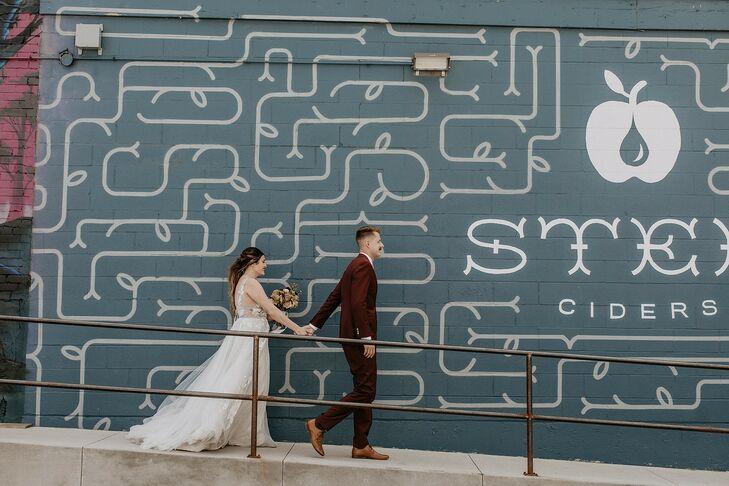 Wedding Portraits Before Colorado Mountain Elopement