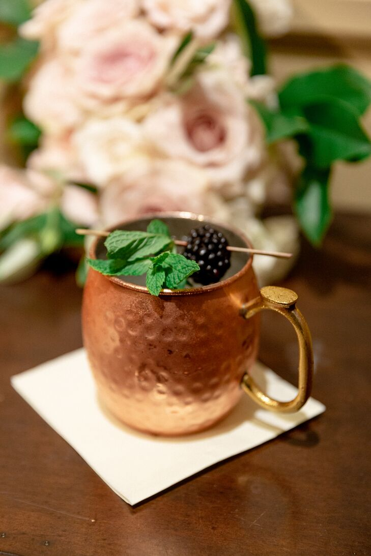 Moscow Mule Signature Drink