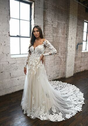 Martina Liana 1337 A-Line Wedding Dress