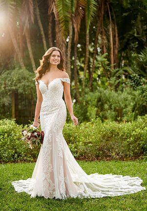 Essense of Australia D3114 Mermaid Wedding Dress