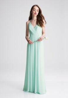 Bill Levkoff 1402 V-Neck Bridesmaid Dress