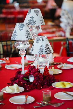 Table Lamp Reception Decor