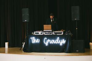 Modern DJ at Reception