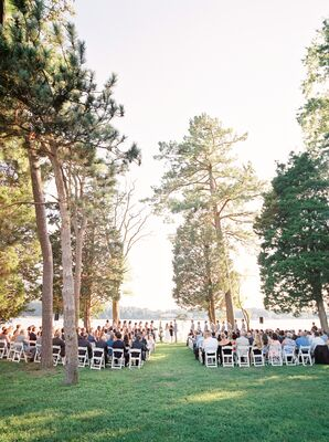 Outdoor Ceremony at Brittland Manor in Chestertown, Maryland