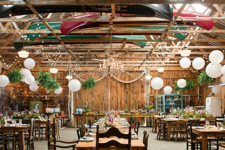 Whimsical Barn Reception